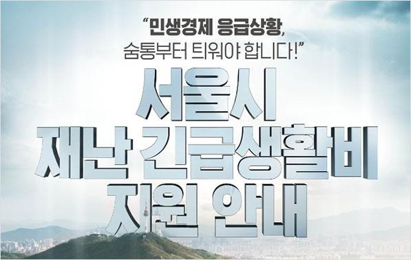 Q&A로 알아보는 '서울시 재난긴급생활비' 지원