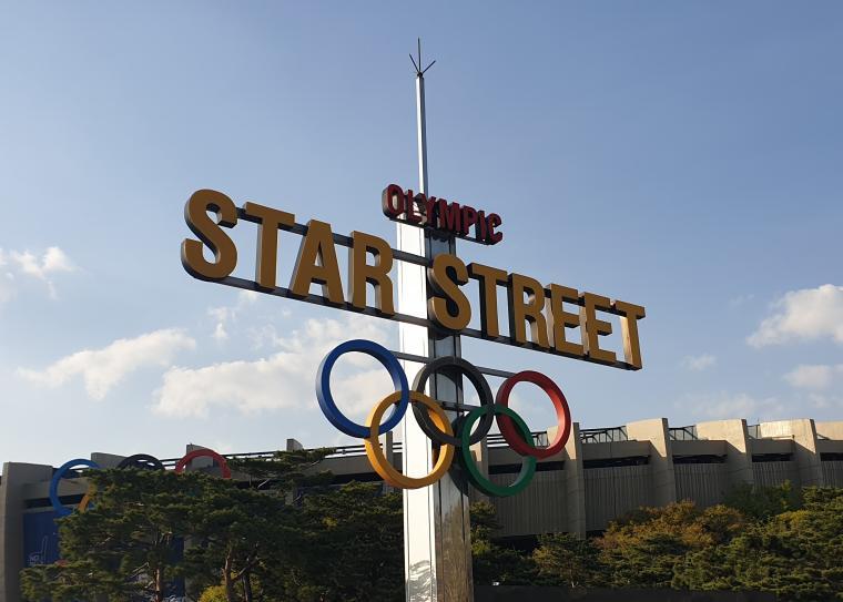 태극전사를 응원합니다! 올림픽 스타 스트리트