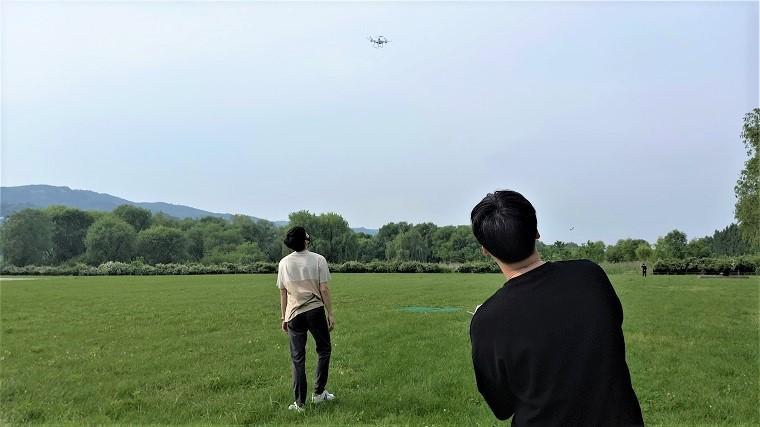 """""""하늘 높이 날아라! 훨훨"""" 한강드론공원"""
