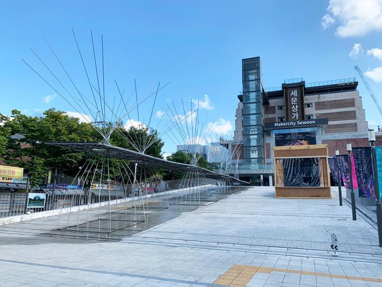 이야기, 건축으로 태어나다! 서울비엔날레 열린 세운상가