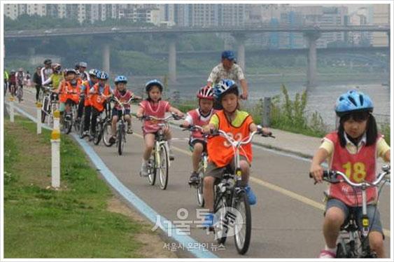 한강자전거