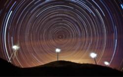 풍력단지의 별 궤적(입선, 허용복)