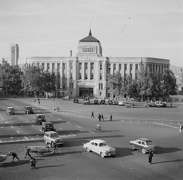 성두경, 서울시청, 1959년경