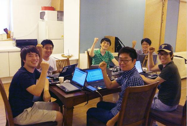 도너도넛에 함께하는 멤버들