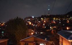 해방촌에서만 볼 수 있는 서울의 야경