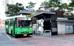 서울시청 별관 구내의 CNG충전소