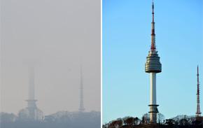 [1년 전 오늘, 서울엔?] 날씨보다 무서운 미세먼지