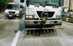 도로 청소차량 ⓒ뉴시스