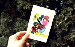 `삼분의 이`에서 제작한 디자인 엽서 ⓒ삼분의 이