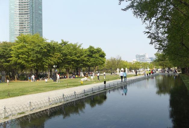 봄이면 더 아름다워지는 서울숲