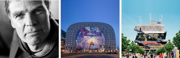 네덜란드 건축·조경 전문가 비니마스, 그의 대표작 Market Hall(로테르담, 네덜란드), EXPO 2000(하노버, 독일)