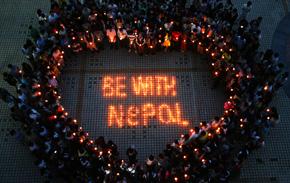 [서울시민의 눈] 네팔을 위해 기도해주세요