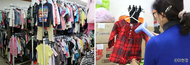 금세 크는 아이옷을 공유할 수 있는 `키플`ⓒ이현정