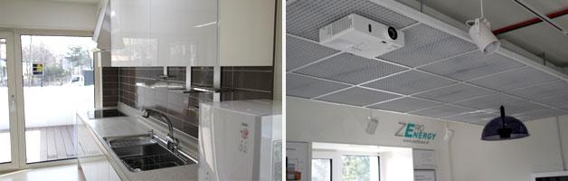 제로에너지 주택 주방 및 내부 모습