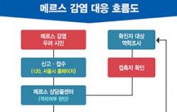 서울시 메르스 대응 흐름도
