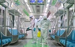 메르스 확산 예방 위해 지하철 방역 강화