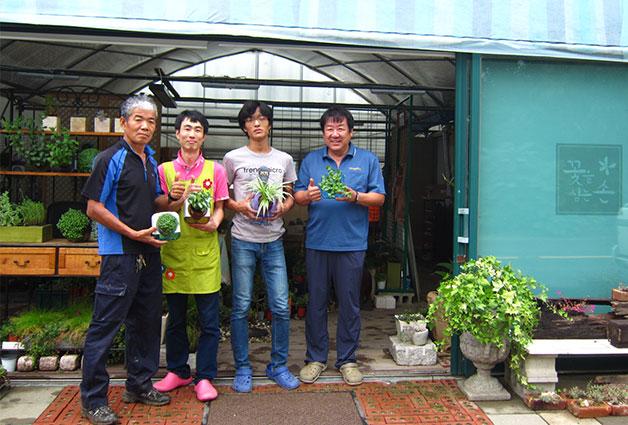 나눔하우징은 `꽃을 심는 손`이라는 실내조경제품 브랜드를 출시하였다