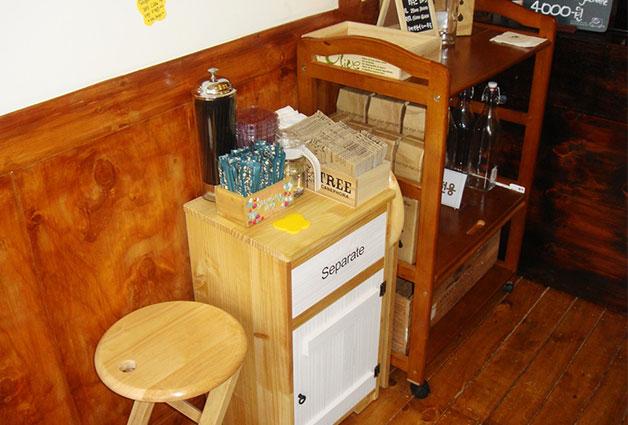 커피현상소의 수익금은 어르신들의 급여와 운영경비로 지급된다
