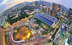 서울광장 야경 ⓒ투수