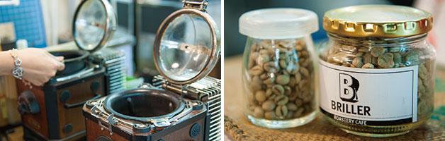 로스팅, 커피도 판매