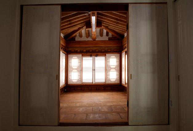전형필가옥 내부 모습