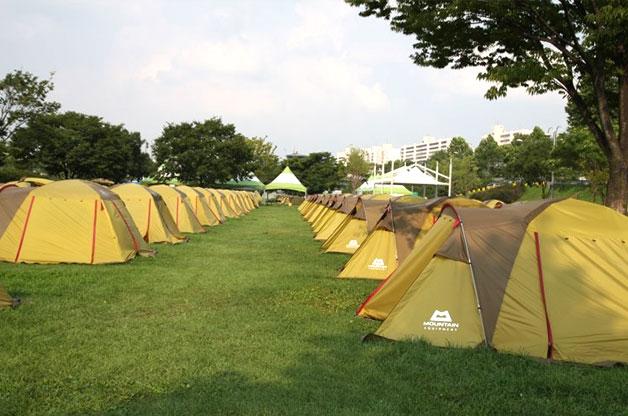 잠실한강공원 캠핑장