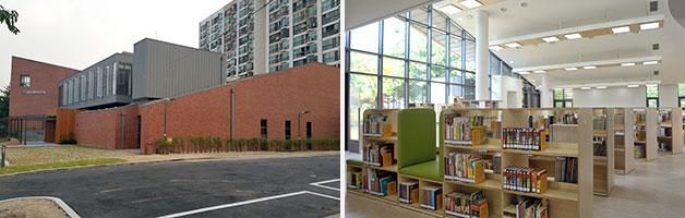 서울에는 처음으로 개관한 도봉구 기적의 도서관