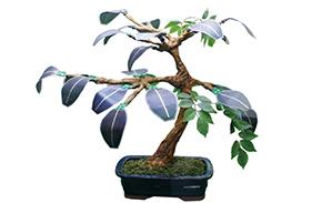 태양전지를 나뭇잎 모양으로 만들어 전력을 발생시키는 솔라트리
