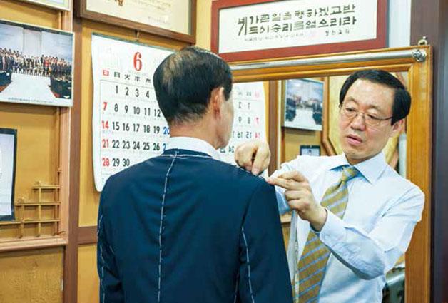 `벤츠 양복점` 송광용 대표