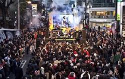 홍대에서 열린 장기기증 생명나눔 콘서트 전경 ⓒ 한국노바티스