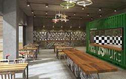 2017년 장안평 일대에 들어설 '서울재사용플라' 내 카페 모습, 폐자전거로 전체적인 인테리어를 꾸몄다. 버려지는 자원을 완전히 새로운 제품으로 재탄생시키는 `업사이클`, 이를 디자인하는 `전문 업사이클러`가 미래형 신 직업군으로 주목받고 있다.