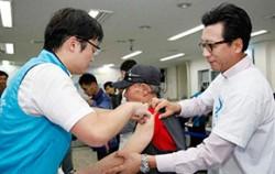 노숙인 대상 무료 독감예방접종