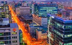 서울 가산디지털단지 야경 ⓒ작은소망