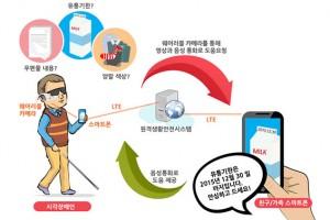 시각장애인 돕는 '엔젤아이즈 앱' 참여자 모집