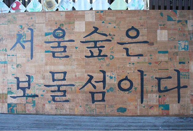 서울숲은 다양한 체험활동, 문화프로그램 등을 즐길수 있는 보물섬이다