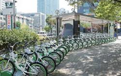 서울형 공공자전거 `따릉이`