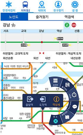 도착역 정보와 경로검색 서비스, 지하철i