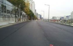 도로 확장 후