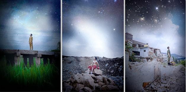 청소년사진공모전 대상, 장경수(저동고 3년)의 `하늘과 바람과 별 속에 나의 영웅들이 있습니다`