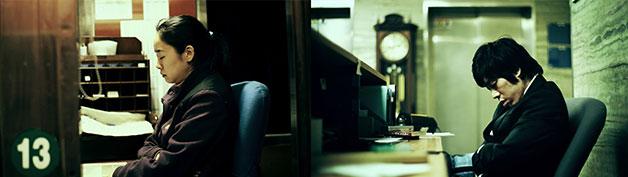도시 속 야간근로자의 삶을 담은 2채널 영상 김세진의 `야간 근로자`