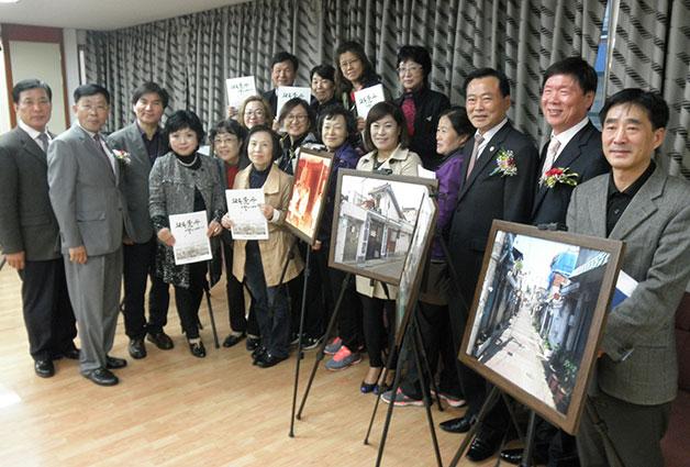 신월6동 주민센터에서 열린 사진 전시회