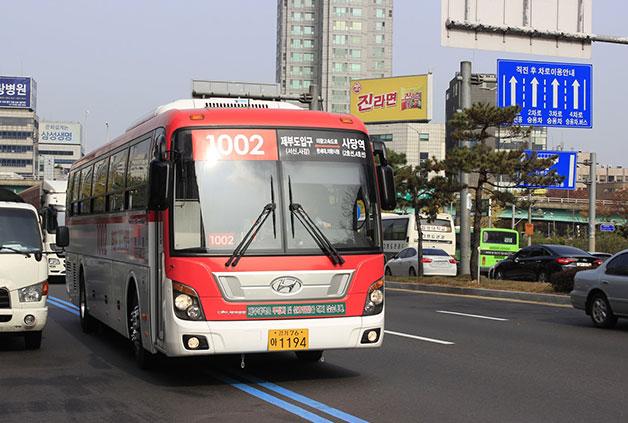 경기버스는 심야 늦은 시각까지 서울 외각 방향으로 운행된다