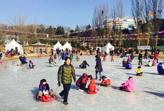 보라매공원 얼음썰매장