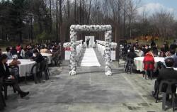 야외결혼식장