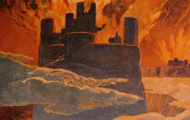 핌불베트르 이후 멸망하는 세계, 1905년 에밀 되플러(Emil Doepler) 작품