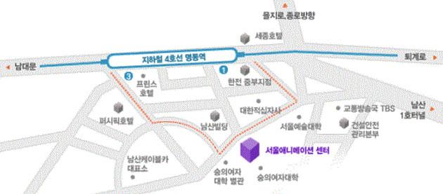 서울애니메이션 센터 위치