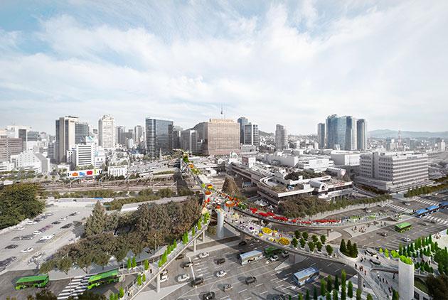 `서울역 7017 프로젝트` 전체 조감도