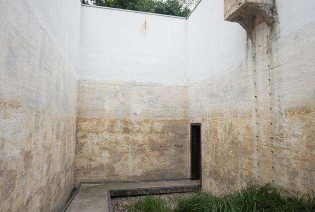옛 물탱크의 모습이 남아있다