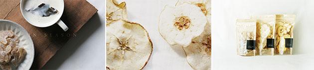 낙과를 이용한 과일칩과 음료