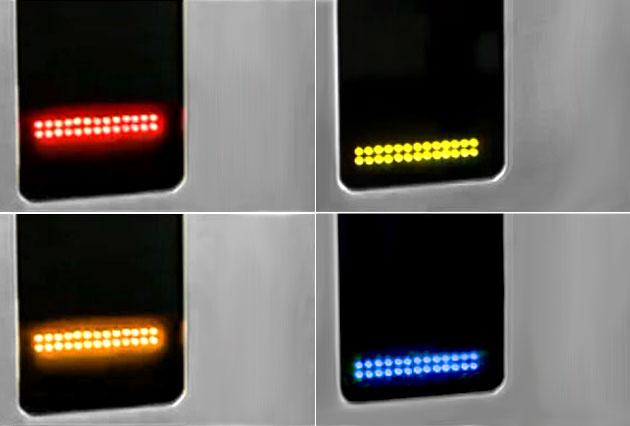 적색: 무임권, 황색: 장애인,국가유공자, 녹색: 청소년권, 청색: 어린이권